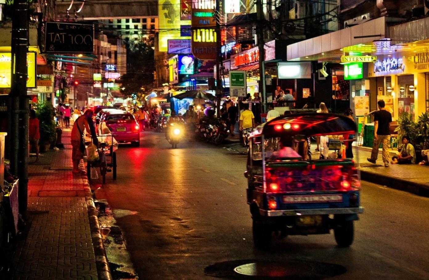 בננה פלאזה שוק לילה תאילנד