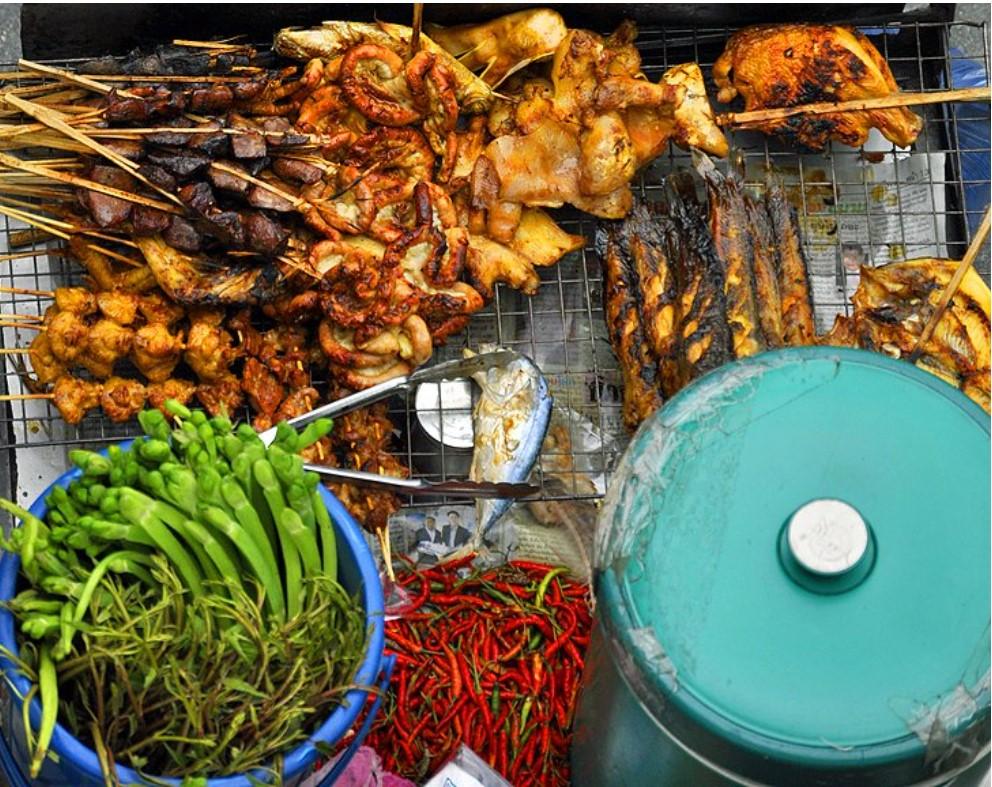 מאכלי הרחוב הטובים ביותר בבנגקוק