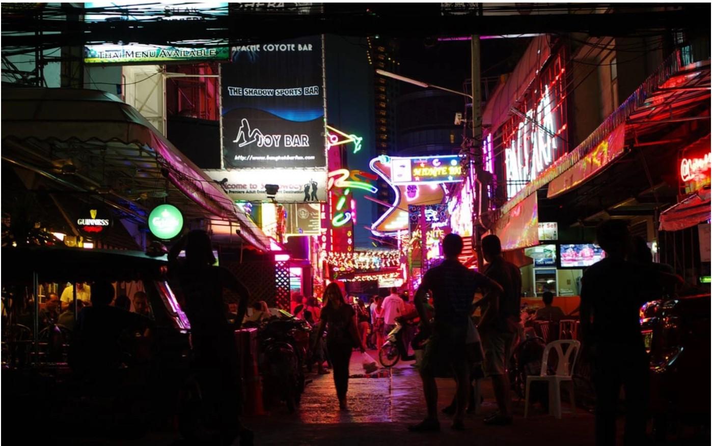 סוי קאובוי, בנגקוק, תאילנד הרחובות האדומים