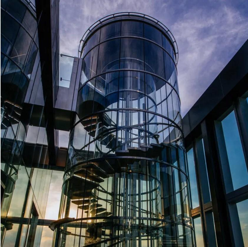 שלב 2 - קומה 75 מעלית זכוכית הידראולית SKYWALK